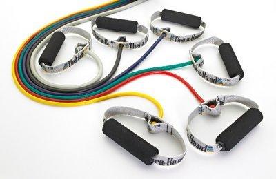 Thera-Band Resistive Tubing with Soft Handles